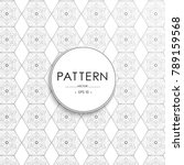 vector seamless pattern... | Shutterstock .eps vector #789159568
