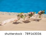 bridesmaids bouquets for a...   Shutterstock . vector #789163036
