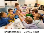 education  children  technology ... | Shutterstock . vector #789177505