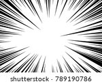 Speed line fast motion background. Comic vector illustration with lines. Pop art pattern and zoom effect