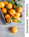 tangerines  oranges ... | Shutterstock . vector #789191272