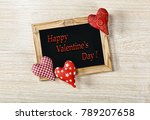 valentine's day. a layout for a ...   Shutterstock . vector #789207658