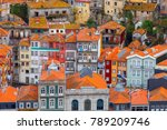 porto. aerial view of the city. | Shutterstock . vector #789209746