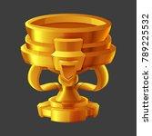 golden reward icon for game...