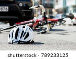close up of a bicycling helmet... | Shutterstock . vector #789233125