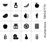 vitamin icons. vector...