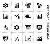 progress icons. vector...