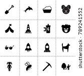 cartoon icons. vector...