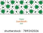 saint patrick's day horizontal... | Shutterstock .eps vector #789242026