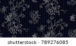 seamless floral pattern in... | Shutterstock .eps vector #789276085