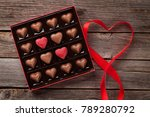 valentines day greeting card... | Shutterstock . vector #789280792