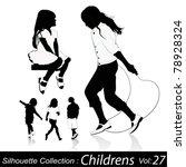 childrens play | Shutterstock .eps vector #78928324