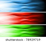 set of wavy banners. eps 10.... | Shutterstock .eps vector #78929719