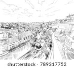 luxembourg. europe. hand drawn...   Shutterstock .eps vector #789317752