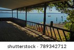 view of a lake from the... | Shutterstock . vector #789342712