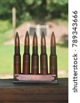 Small photo of Rifle Gun Ammo in Size 7.62x54