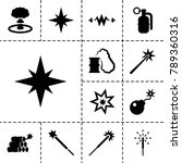 spark icons. set of 13 editable ...   Shutterstock .eps vector #789360316