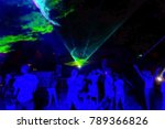 silhouettes of concert crowd at ...   Shutterstock . vector #789366826