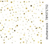 gold star background | Shutterstock .eps vector #789371752