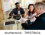 realtor showing terms of... | Shutterstock . vector #789378616