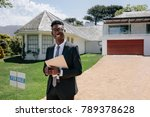 portrait of confident young... | Shutterstock . vector #789378628