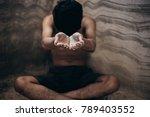 selective soft focus. hands... | Shutterstock . vector #789403552