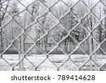 beautiful winter scene | Shutterstock . vector #789414628