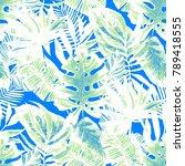 watercolor seamless pattern... | Shutterstock . vector #789418555