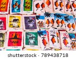 souvenir pictures in the local... | Shutterstock . vector #789438718