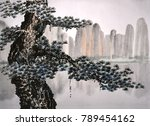 chinese traditional... | Shutterstock . vector #789454162