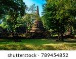 wat nang phaya si satchanalai... | Shutterstock . vector #789454852