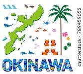illustration of okinawa | Shutterstock .eps vector #789459052
