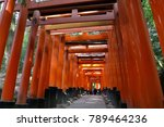 kyoto japan   november 11  2017 ... | Shutterstock . vector #789464236