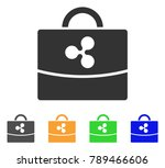ripple accounting case icon....   Shutterstock .eps vector #789466606