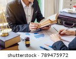 business lawyer working about...   Shutterstock . vector #789475972