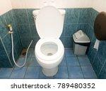 close up of toilet bathroom... | Shutterstock . vector #789480352