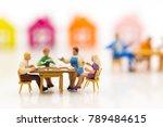miniature families are... | Shutterstock . vector #789484615