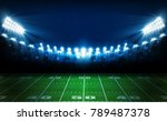 american football arena field... | Shutterstock .eps vector #789487378