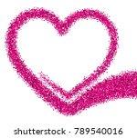 valentine's love background...   Shutterstock .eps vector #789540016