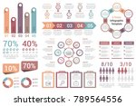 infographic elements   bar... | Shutterstock .eps vector #789564556