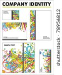 company identity vector... | Shutterstock .eps vector #78956812