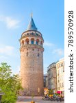 galata tower  istanbul | Shutterstock . vector #789570928