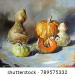still life. multicolored... | Shutterstock . vector #789575332