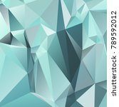 abstract polygonal mosaic... | Shutterstock .eps vector #789592012