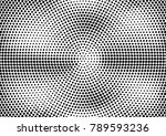 abstract halftone dotted grunge ... | Shutterstock .eps vector #789593236
