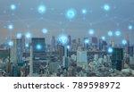 smart city concept. iot... | Shutterstock . vector #789598972