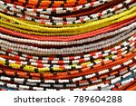 detail of a traditional african ... | Shutterstock . vector #789604288