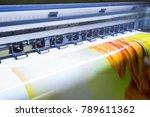 format large inkjet printer... | Shutterstock . vector #789611362