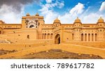 Amber Fort At Jaipur Rajasthan...
