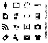 origami style icon set   man... | Shutterstock .eps vector #789621352